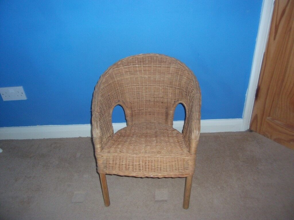 Childs Wicker Chair