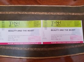 Beauty and the Beast with live orchestra at the Symphony Hall Birmingham