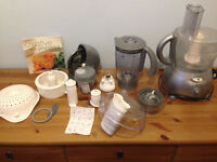Kenwood Multi-Pro Food Processor with Liquidiser and all accessories