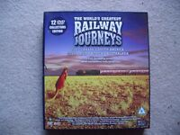 "Two Box Sets of ""The World's Greatest Railway Journeys """