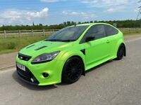 2009 FORD FOCUS RS LUX 1+2 DYNAMIC SEATS ULTIMATE GREEN Px