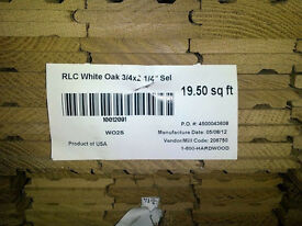 Unfinished American Solid Oak Hardwood Flooring