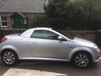 2008 Silver Vauxhall Tigra - Good Condition
