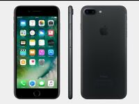 😀UNLOCKED - IPHONE 7 PLUS 32GB BLACK 'BRAND NEW' 😀
