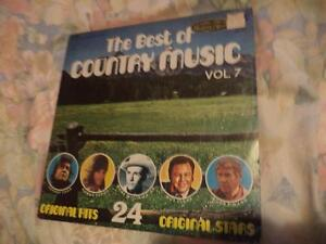 VARIOUS COUNTRY LP'S (BEST COUNYRY MUSICS  VOL 7) St. John's Newfoundland image 3