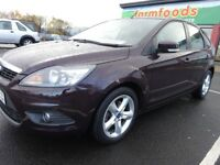 2008 FORD FOCUS 1.6 PETROL,FULL YEAR MOT,2 KEYS,NEW CLUTCH FITTED