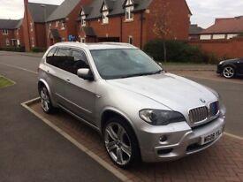 BMW X5 3.0 twin turbo diesel 4x4 340 bhp fsh