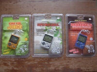 New Sealed 3x Nintendo Mini Classic Games Super Mario Bros DK Cement Game & Watch Key Ring