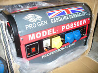 Pro Gen 2800w (2.6KVA) Petrol Generator. Trolley Mounted. New