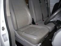 TRANSPORTER T5 FRONT SEATS, DOUBLE AND SINGLE, 2010