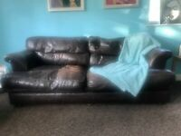 Loved Leather Sofa