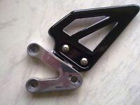gsxr 600 750 k123 left hand ( gear ) footrest hanger