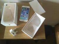 iPhone 7 gold 128gb boxed Vodafone network