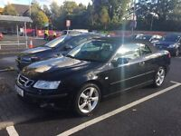 SAAB 9-3 2.0t Convertible, good condition!