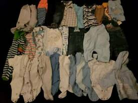 Bulk Boys 0-3m Clothing. Other Sizes Available