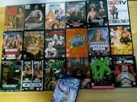 WWE/WWF DVDs