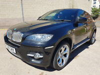 2009 09 BMW X6 3.0 XDRIVE35D 4d AUTO 282 BHP FULL SERVICE HISTORY REVERSE CAMERA PRIVACY GLA