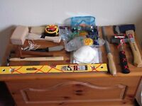 *Brand new - Various hand tools and drill bits