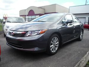 2012 Honda Berline Civic EX 72$/sem.