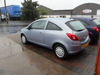 2008 vauxhall corsa damaged repaired 1.0 petrol