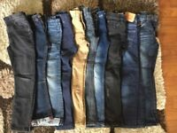 Boys jeans 10 pairs