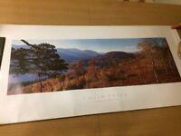 COLIN PRIOR Unframed print of Loch An Eilein