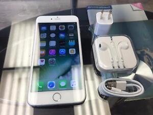iPhone 6 Plus - Locked to Bell / Virgin Mobile - White / Silver - AMAZING DEAL!