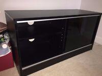 Black MDF TV Stand