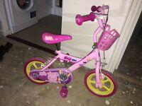 Peppa Pig Bike ( 2-4 Years ) Good Condition