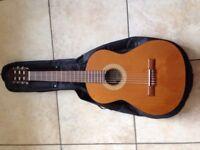 Classical Guitar, Manuel Rodriguez e Hijos Mod. CABALLERO 11 BUBINGA