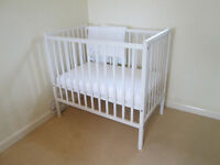 Annie Sloane Shabby Chic (non toxic) painted Cot..... Located in Offton IP8