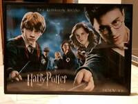 Large Harry Potter framed poster