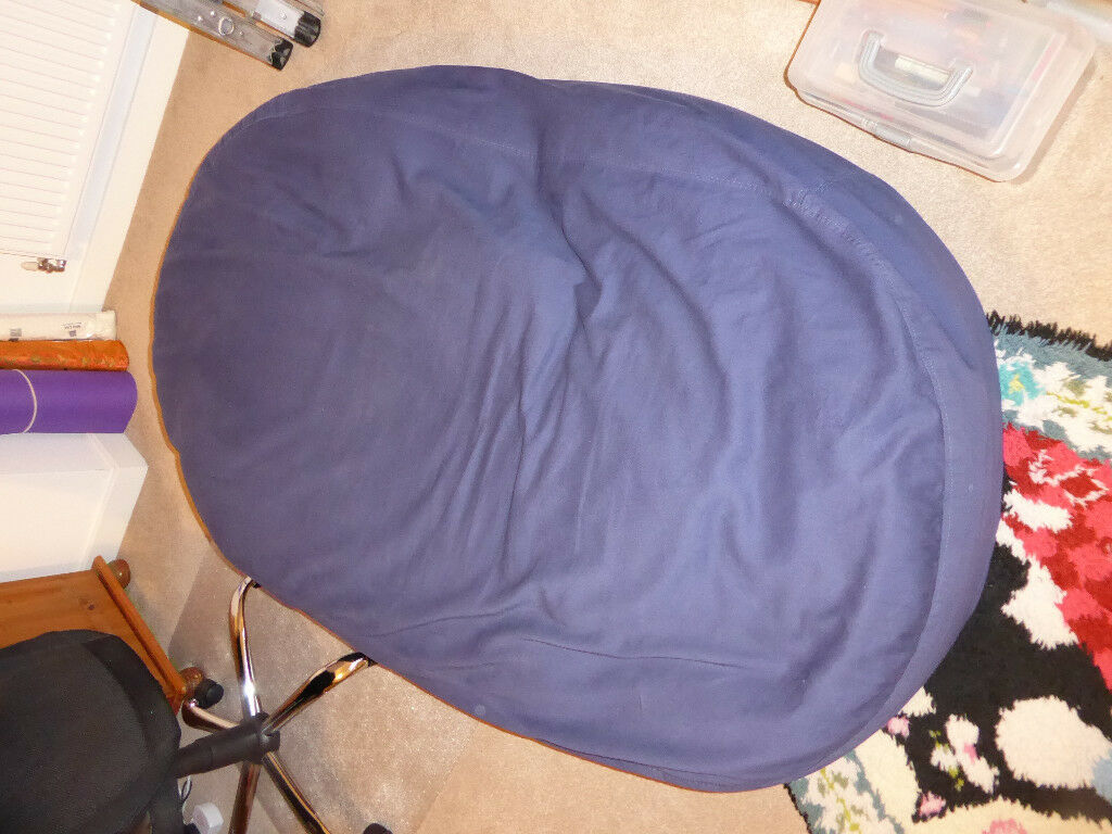 Enjoyable Offers Accepted Xlarge Royal Blue Cotton Sofa Bed Bean Bag Cover Only No Filling Included In Northampton Northamptonshire Gumtree Ibusinesslaw Wood Chair Design Ideas Ibusinesslaworg