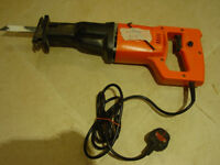 electric saw Now reduced to £10 for quick sale