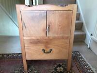 Solid Teak small chest / night table