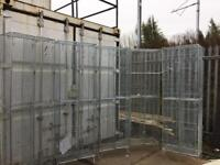Steel storage cages
