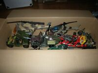 TOYS H M SOLDIER FORCE SOLDIER TOYS JEEP HELICOPTERS BOATS GUNS SOLDIERS
