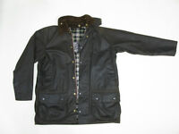 Barbour Moorland waxed cotton jacket