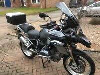 BMW GS1200 TE ENDURO, BMW Aluminium Luggage boxes, Fully adjustable Wunderlich tinted screen.