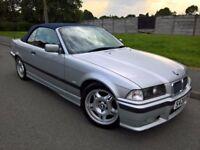 1999 BMW E36 328I SE 3 SERIES M SPORT CABRIOLET CONVERTIBLE 2.8L MANUAL SILVER