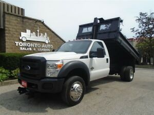 2011 Ford F-550 Super Duty,Dump box,6.7L Diesel.