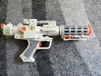 Gun - STAR WARS GENERAL GREVIOUS LIGHTS / SOUNDS BLASTER GUN HASBRO / LUCASFILM 2004