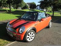 07 mini cooper convertible exceptional car thruout rare trendy colour much admired drives perfect