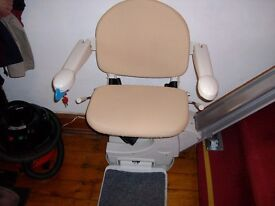 Super Glide remotely controllable stair lift.