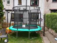 Unused 7ftx10ft Oval Trampoline Space Saver - Good Condition