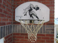 Heavy Duty Wall Mounted Basketball Backboard Hoop