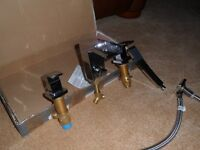 Bath Water Fall Mixer Tap and Shower
