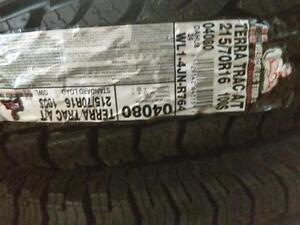 BRAND NEW SET 215/70R16 HERCULES TERATRAC