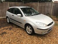FORD FOCUS 1.8TDCI, 3 DOOR, VERY LOW RUNNING COSTS, MOT AND SERVICE HISTORY