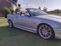 BMW 330ci M SPORT CONVERTIBLE MOT JUNE 2019 GREAT CONDITION LEATHER INTERIOR ELECTRIC ROOF MAY PX